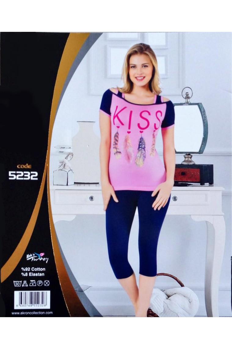 Bayan Kapri Tayt Takım 5232